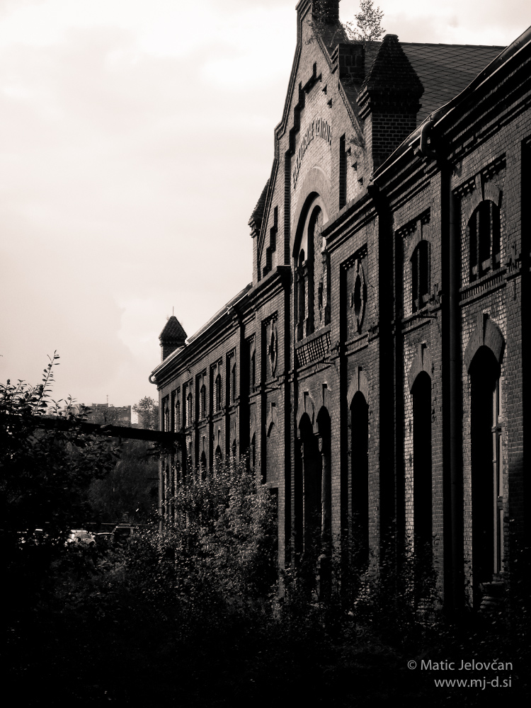 Old powerplant buildings in Ostrava 7