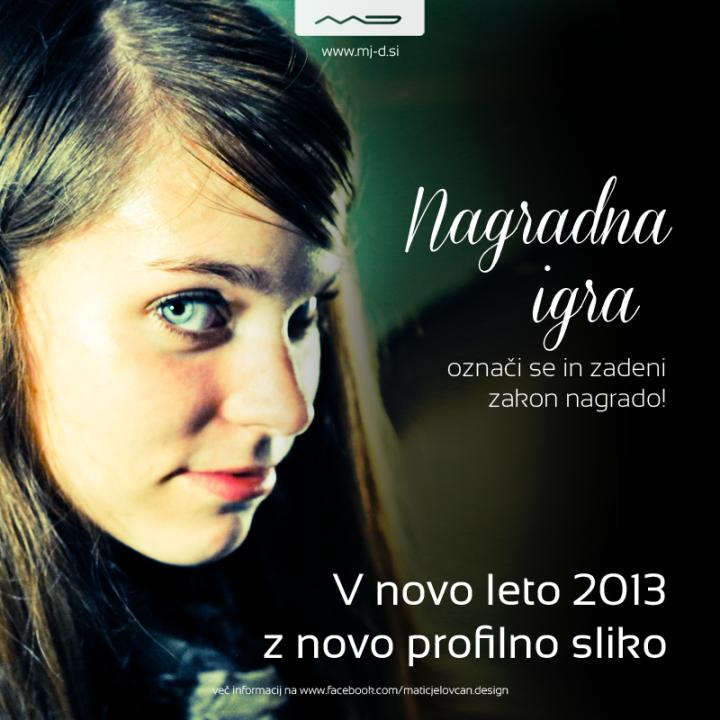 NAGRADNA IGRA: V novo leto 2013 z novo profilno sliko