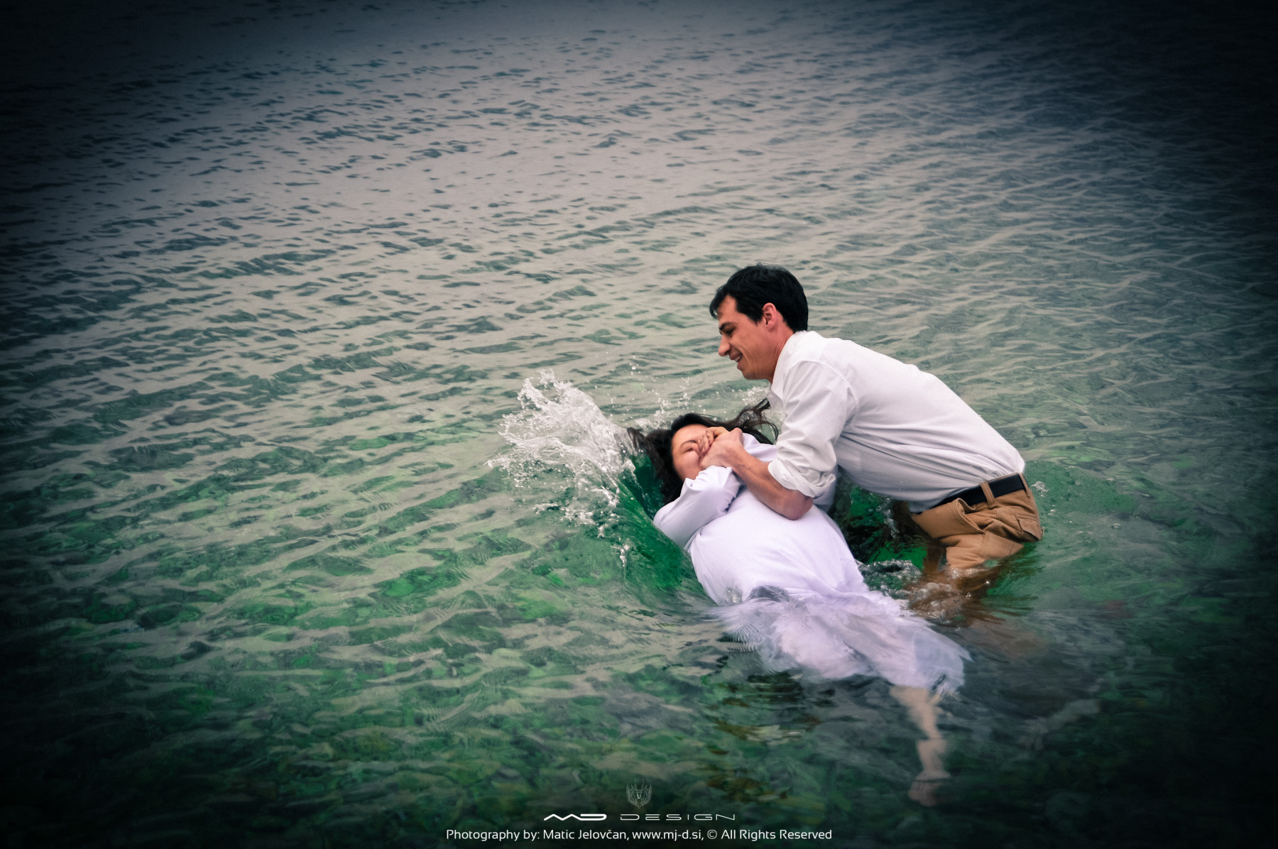 Two baptisms in Crikvenica, 6.4.2014 6