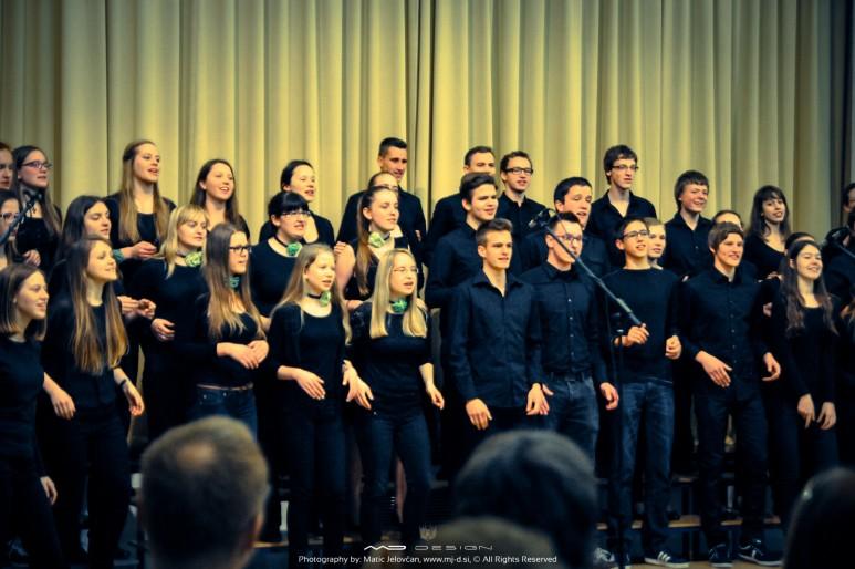 """20140422  DSC77951 773x514 - Pala's performance with """"Škofijska Gimnazija"""""""
