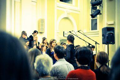 """20140422  DSC78241 384x255 - Pala's performance with """"Škofijska Gimnazija"""""""