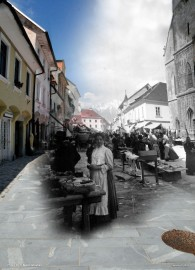 """20140808  DSC2418 195x270 - """"Old and New Kranj"""""""