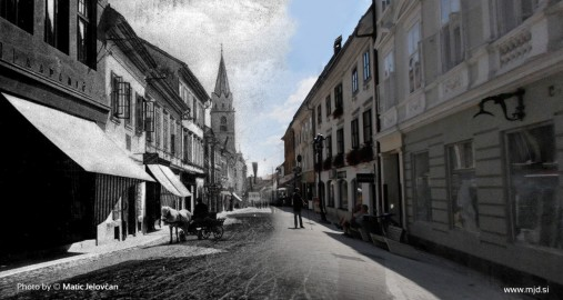 """20140808  DSC2446 507x270 - """"Old and New Kranj"""""""