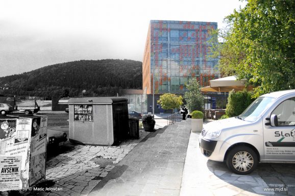 """20140808  DSC2524 578x384 - """"Old and New Kranj"""""""