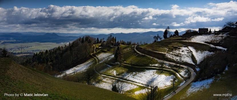 Hiking to Planica, Kranj 6