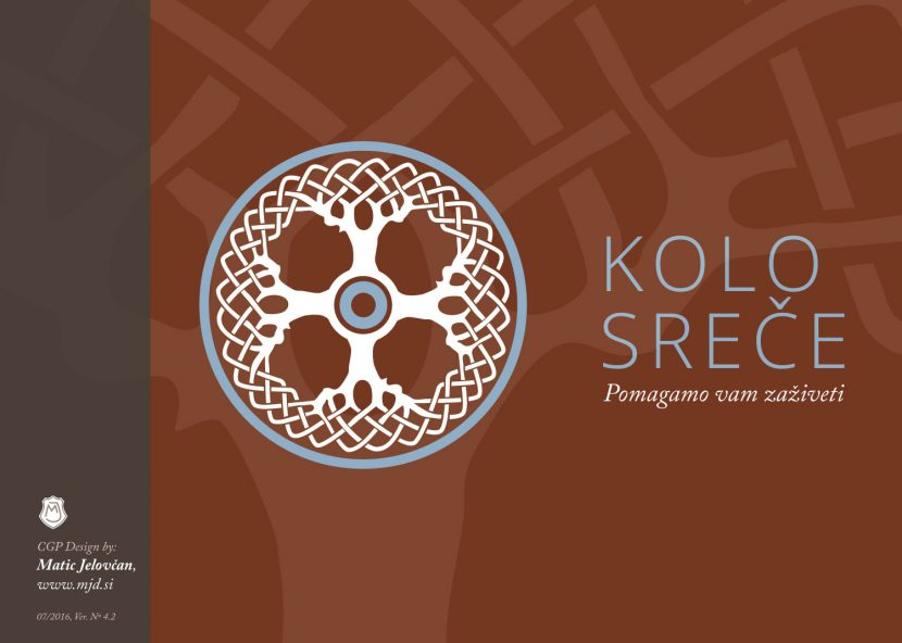 KOLO SREČE, a Logo for a Non-Profit Institute | Matic Jelovčan Design