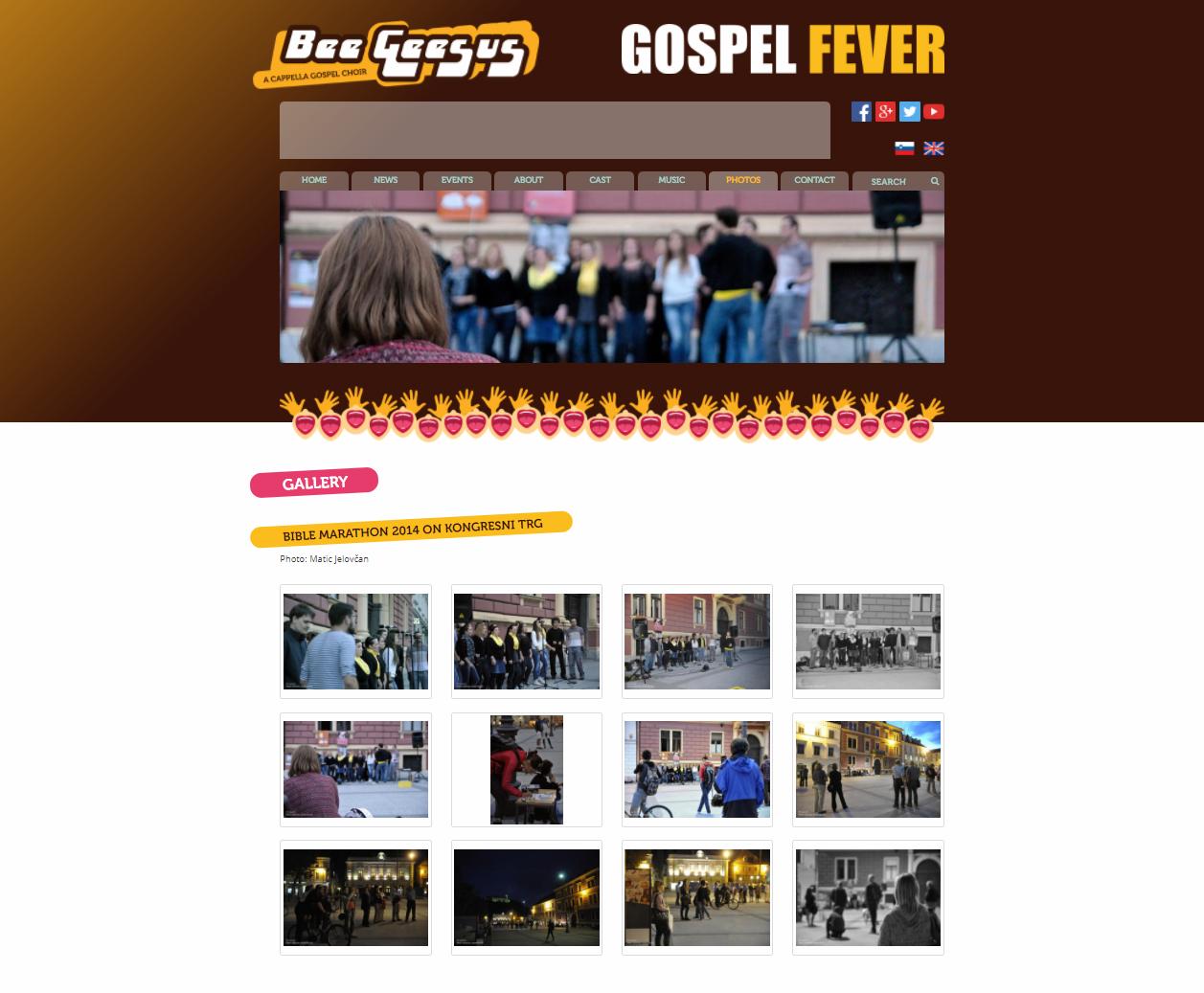 """begeesus - """"BIBLE MARATHON 2014 ON KONGRESNI TRG"""""""