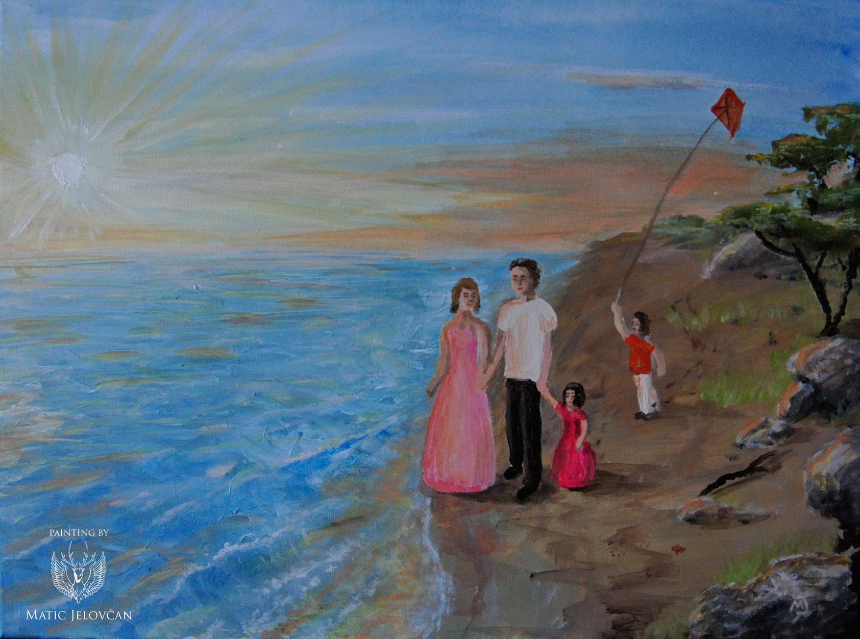 Družinsko poletje na morju...