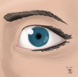 An Eye 253x252 - Latest drawings and sketches (Matic)