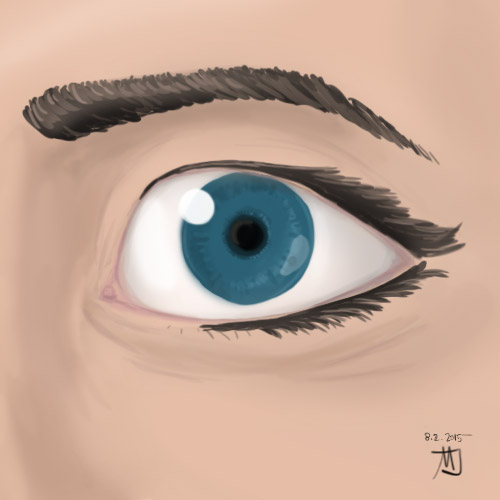 An Eye study, by Matic Jelovčan