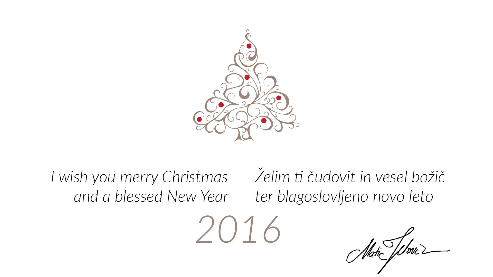 card - Merry Christmas...