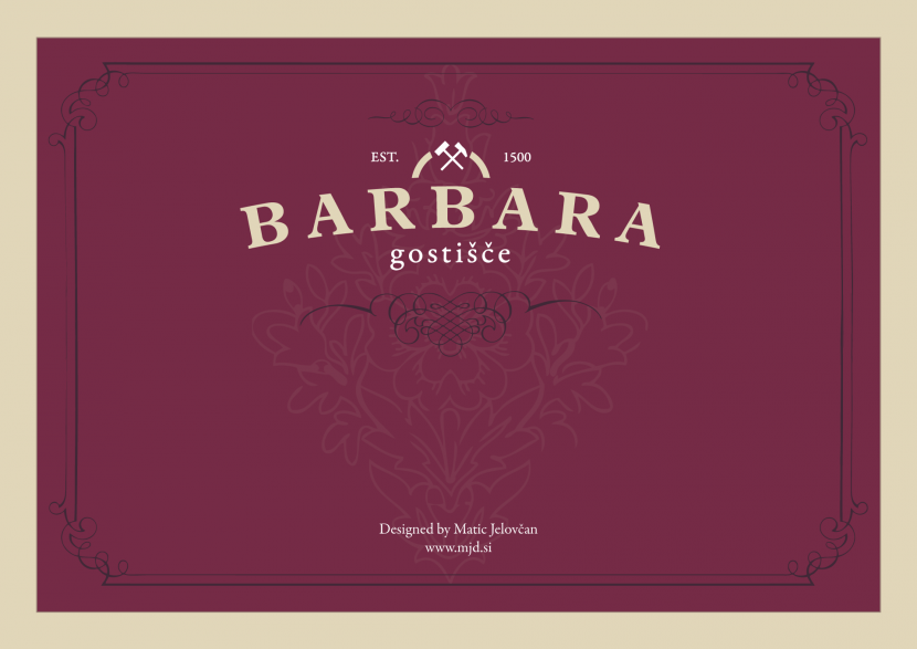 Barbara Inn Logo Design 1