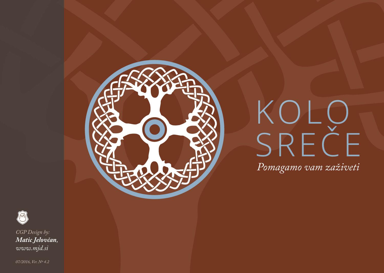 KOLO SREČE, a Logo for a Non-Profit Institute | Matic Jelovčan Design
