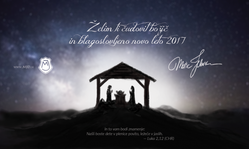 mjd Christmas SL 830x498 - Merry Christmas and a Blessed New Year 2017