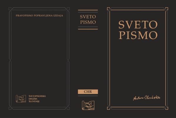 """cover 598x402 - """"New"""" Chráska Bible in Slovene"""