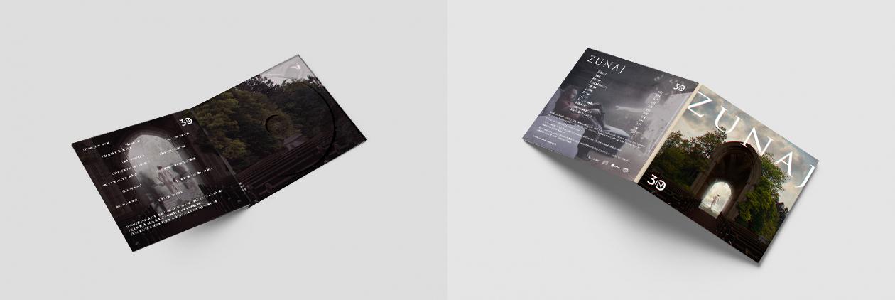 """mockup - Cover for an Album """"Zunaj"""""""