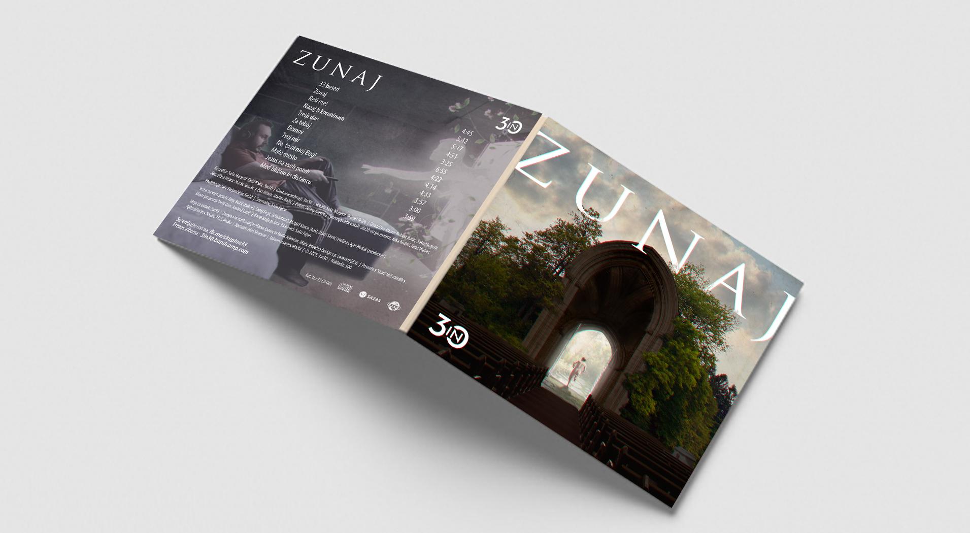 "mockupfront - Cover for an Album ""Zunaj"""
